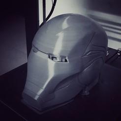 3D printer models IRONMAN HELMET - MARK 85 - FROM INFINITY WAR - ENDGAME - MARVEL, Bstar3Dprint