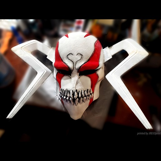 Download 3D printing templates The Whole Hollow Mask - Kurosaki Ichigo - Bleach, Bstar3Dart