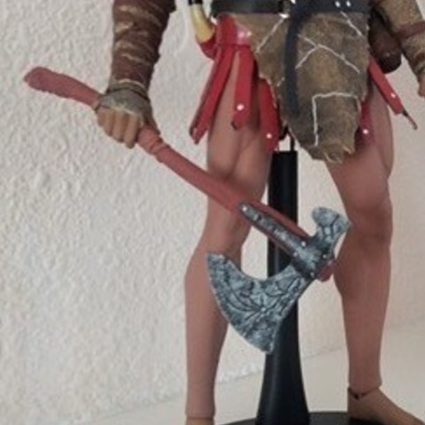 3D print files weapon Kratos, Bstar3Dprint