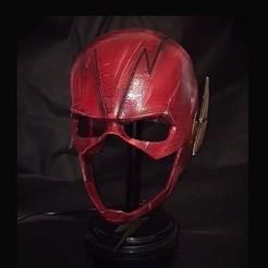 Download 3D printing templates Flash Helmet - Justice League , Bstar3Dart