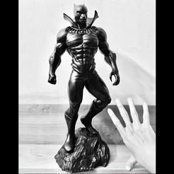 Télécharger fichier imprimante 3D Fan Art de la bande dessinée Black Panther Marvel, Bstar3Dart