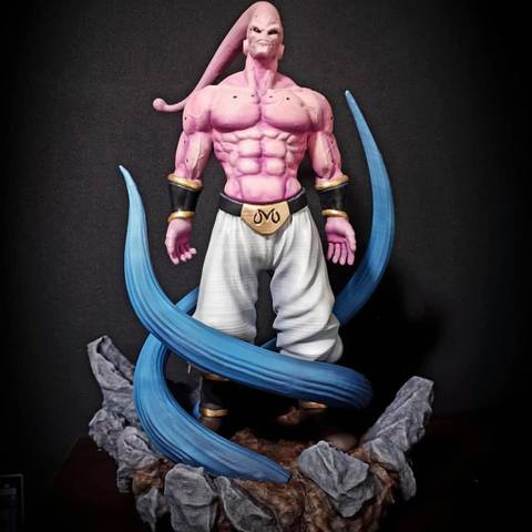 3D printing model Majin Buu Dragon Ball Z, Bstar3Dprint