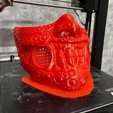Download STL Face mask - Samurai Covid Mask, Bstar3Dart