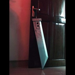STL files Buster Sword Cloud - Final Fantasy VII, Bstar3Dprint