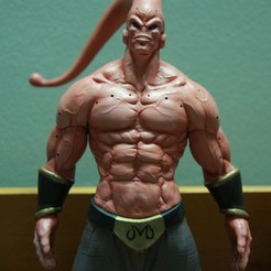 Plan 3D Majin Buu Dragon Ball Z, blackstar90