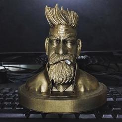Modelos 3D para imprimir Busto Cazador de Zombis, Bstar3Dprint