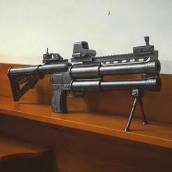 Diseños 3D Artillería de salvia Deuce GUN, Bstar3Dprint