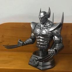 Download 3D printer designs Wolverine Bust - Marvel 3D print model 3D print model, Bstar3Dart