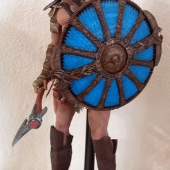 Shield of Kratos - Guardian Shield - God of War 2018 3D model, blackstar90