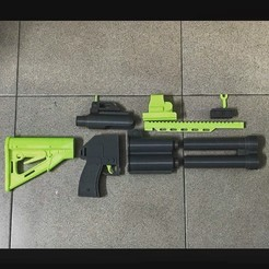 Download 3D printing files Sage ordnance Deuce GUN, Bstar3Dart