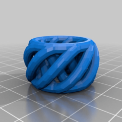 Download free 3D printer designs My Customized Ring/Bracelet/Crown Thing (V2), cube606592