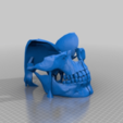 d2d5d60f73acf2e01506d526bab7b1cb.png Download free STL file full faced skull mask no supports needed • 3D print object, cube606592