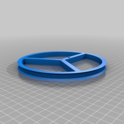 Download free STL file 150 mm gear pully • 3D print design, cube606592