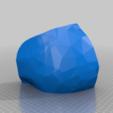 Download free 3D printing models Steampunk Skull helmet V2, cube606592