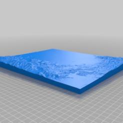 Télécharger modèle 3D gratuit topographie de Kingman AZ, cube606592