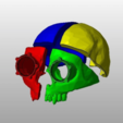 Download free 3D printing models Steampunk Skull helmet, cube606592