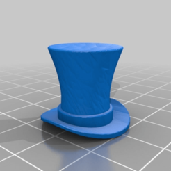Download free 3D printer files steampunk top hat valve cap for pennyfarthing, cube606592
