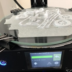 Free 3D printer files Moto Cafe Racer scalemodel, navarretepxng