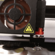 Free 3d printer designs CR-10S, OEM Fan, Offset Nozzle with Clip Clearance, johnmcwgeo