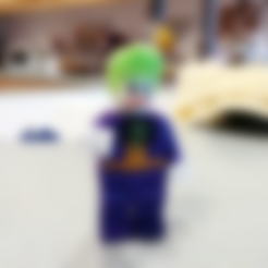 Free 3d printer files Lego Joker 2X, johnmcwgeo