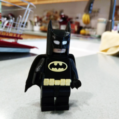 Free 3d printer files Lego Batman 2X, johnmcwgeo