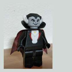 Download free 3D printer files Lego Munsters Grampa 2X, johnmcwgeo