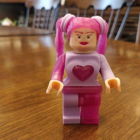 Download free 3D model Lego Sophie Quinn 2X, johnmcwgeo