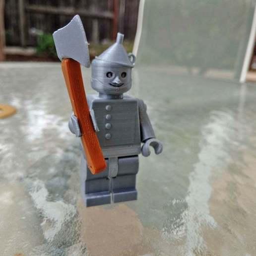 Télécharger plan imprimante 3D gatuit OZ - Tin Man - 2X, johnmcwgeo