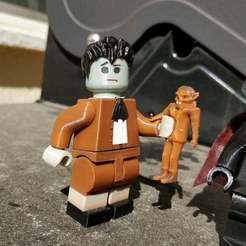 Download free STL file Lego Munsters Eddie 2X, johnmcwgeo