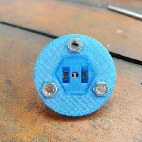 06.jpg Download free STL file Radial Fan Impeller / Radialventilator Laufrad - 125RL-6X • 3D printable template, CONSTRUCTeR