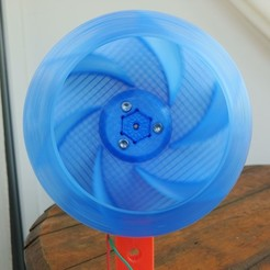 Download free 3D printer designs Radial Fan Impeller / Radialventilator Laufrad - 125RL-6X, CONSTRUCTeR