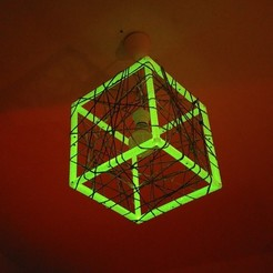 Download free 3D model MPF - Meshcube Lamp / Netzwürfel Lampe, CONSTRUCTeR