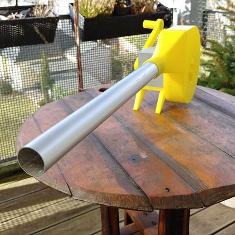 Foto03.jpg Download free STL file BBQ Fan Extension for Gearbox 256 / Grillgebläse Erweiterung für Getriebe 256 • 3D print design, CONSTRUCTeR