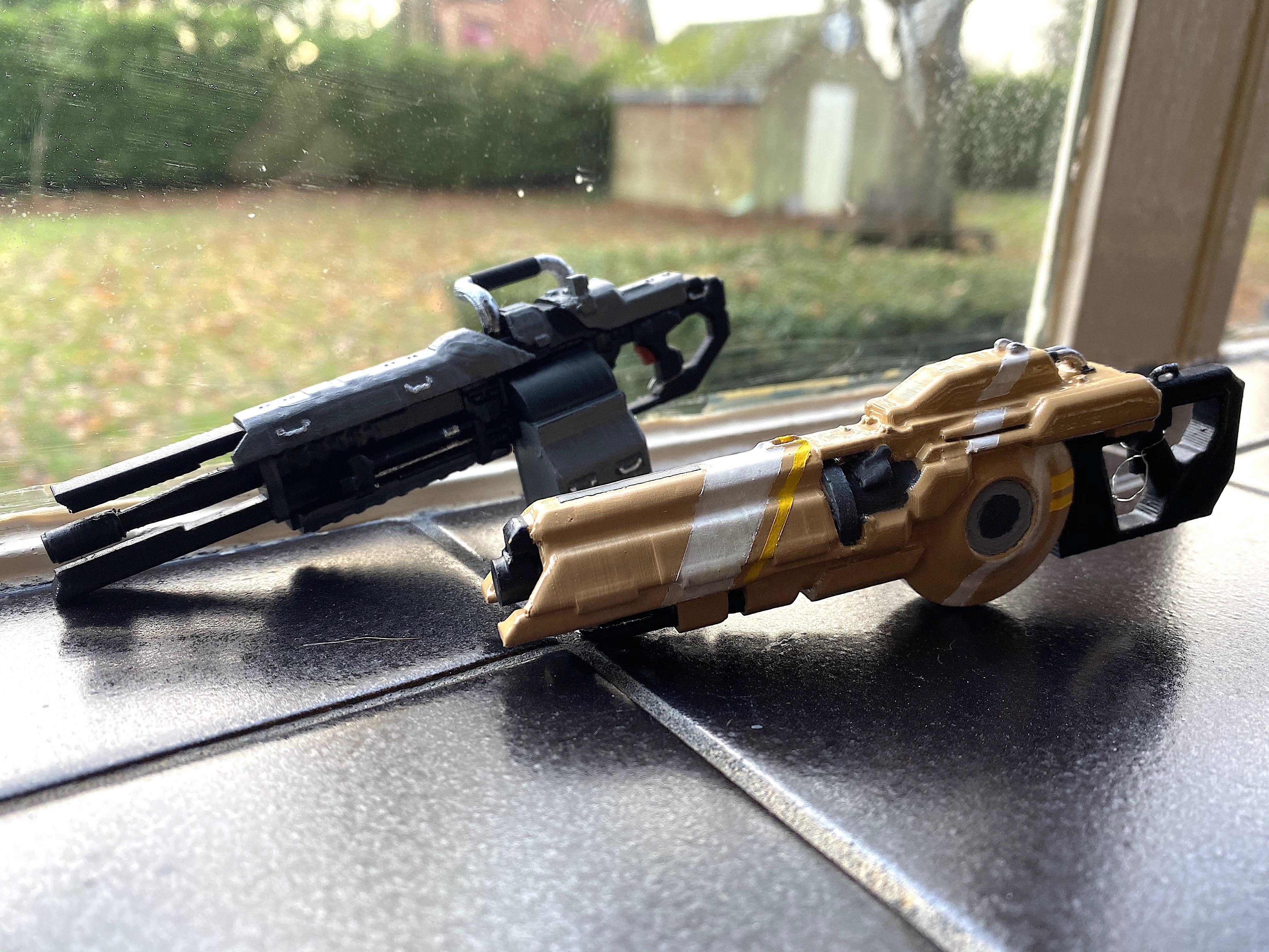 IMG_7593.JPG Télécharger fichier OBJ gratuit Le fusil de précision TitanFall 2 et le canon traqueur de 40 mm • Plan imprimable en 3D, MaxWillson