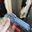 IMG_4304.jpg Télécharger fichier OBJ gratuit Le fusil de précision TitanFall 2 et le canon traqueur de 40 mm • Plan imprimable en 3D, MaxWillson