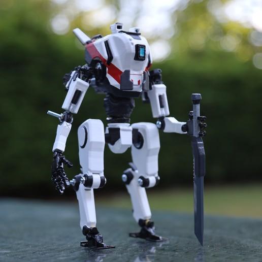 Descargar modelos 3D TitanFall 2 3D Printed Ronin Titan, MaxWillson