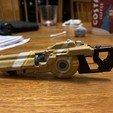 IMG_4853.jpg Télécharger fichier OBJ gratuit Le fusil de précision TitanFall 2 et le canon traqueur de 40 mm • Plan imprimable en 3D, MaxWillson