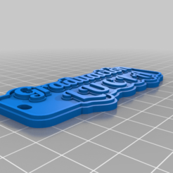 Download free 3D printer designs My Customized Multiline Tag or Keychain, jogape647