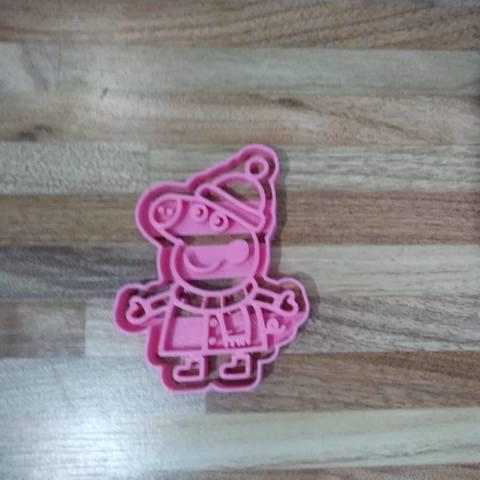 38204223_2012805385417957_4968132870515195904_n.jpg Download STL file cut peppa nieve • 3D print design, Blop3D