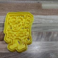 Download 3D printer designs Bob esponja, blop3d