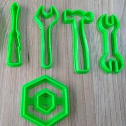3d printer files cut set de herramientas, blop3d
