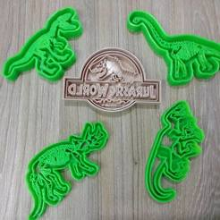 STL Dinosaurs FOSIL, blop3d