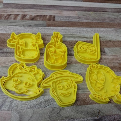 3D printer models Cut Cookie Granja de Zenon Pollito, blop3d