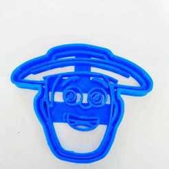 Impresiones 3D cortantes de galletitas con formas de La Granja de Zenón  -Zenón., Blop3D