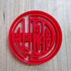 Descargar modelos 3D para imprimir cut cookie casla, blop3d