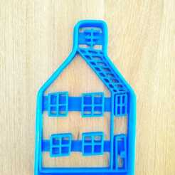 Download STL file cutter cut house peppa pig, blop3d