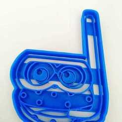 Download 3D printing files cookie cutters in the shape of La Granja de Zenón Rana, blop3d