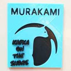 kafka imagen.jpeg Download STL file Haruki Murakami KAFKA ON THE SHORE • 3D printing template, Blop3D