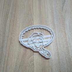 Descargar STL JESSIE TOY STORY 4 COOKIE CUTTER, blop3d