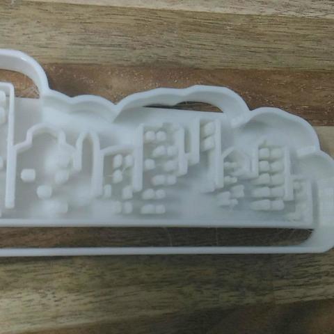 Télécharger fichier 3D Couper VILLE, blop3d